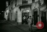 Image of Men and women at bar and hotel Paris France, 1956, second 31 stock footage video 65675021102