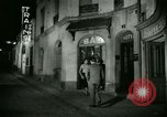 Image of Men and women at bar and hotel Paris France, 1956, second 32 stock footage video 65675021102