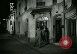 Image of Men and women at bar and hotel Paris France, 1956, second 33 stock footage video 65675021102