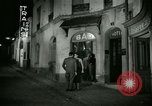 Image of Men and women at bar and hotel Paris France, 1956, second 34 stock footage video 65675021102