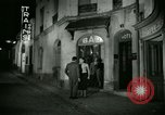 Image of Men and women at bar and hotel Paris France, 1956, second 35 stock footage video 65675021102