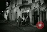 Image of Men and women at bar and hotel Paris France, 1956, second 36 stock footage video 65675021102