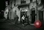 Image of Men and women at bar and hotel Paris France, 1956, second 37 stock footage video 65675021102
