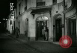 Image of Men and women at bar and hotel Paris France, 1956, second 42 stock footage video 65675021102