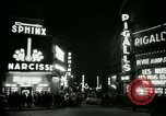 Image of Pigalle Paris France, 1956, second 29 stock footage video 65675021104