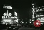Image of Pigalle Paris France, 1956, second 33 stock footage video 65675021104