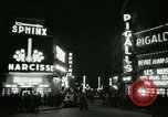 Image of Pigalle Paris France, 1956, second 35 stock footage video 65675021104