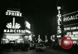 Image of Pigalle Paris France, 1956, second 39 stock footage video 65675021104