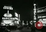 Image of Pigalle Paris France, 1956, second 41 stock footage video 65675021104