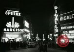 Image of Pigalle Paris France, 1956, second 42 stock footage video 65675021104