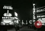 Image of Pigalle Paris France, 1956, second 45 stock footage video 65675021104