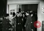 Image of Stage Door Canteen Paris France, 1945, second 7 stock footage video 65675021105