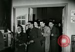 Image of Stage Door Canteen Paris France, 1945, second 25 stock footage video 65675021105