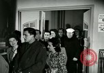 Image of Stage Door Canteen Paris France, 1945, second 31 stock footage video 65675021105