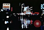 Image of Times Square neon lights New York City USA, 1954, second 34 stock footage video 65675021109