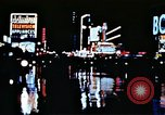 Image of Times Square neon lights New York City USA, 1954, second 35 stock footage video 65675021109