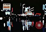 Image of Times Square neon lights New York City USA, 1954, second 36 stock footage video 65675021109