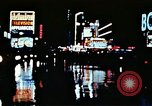 Image of Times Square neon lights New York City USA, 1954, second 38 stock footage video 65675021109