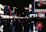 Image of Times Square neon lights New York City USA, 1954, second 39 stock footage video 65675021109