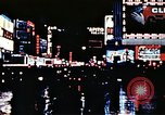 Image of Times Square neon lights New York City USA, 1954, second 40 stock footage video 65675021109