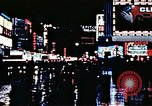 Image of Times Square neon lights New York City USA, 1954, second 45 stock footage video 65675021109