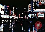 Image of Times Square neon lights New York City USA, 1954, second 49 stock footage video 65675021109