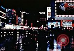 Image of Times Square neon lights New York City USA, 1954, second 50 stock footage video 65675021109