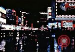 Image of Times Square neon lights New York City USA, 1954, second 51 stock footage video 65675021109