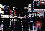 Image of Times Square neon lights New York City USA, 1954, second 53 stock footage video 65675021109
