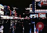 Image of Times Square neon lights New York City USA, 1954, second 54 stock footage video 65675021109