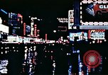 Image of Times Square neon lights New York City USA, 1954, second 58 stock footage video 65675021109
