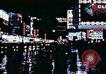 Image of Times Square neon lights New York City USA, 1954, second 59 stock footage video 65675021109