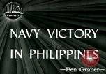 Image of US Navy fights Japanese in Philippines Philippine Sea, 1944, second 1 stock footage video 65675021117