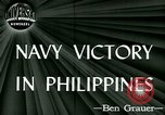 Image of US Navy fights Japanese in Philippines Philippine Sea, 1944, second 3 stock footage video 65675021117