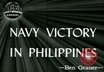 Image of US Navy fights Japanese in Philippines Philippine Sea, 1944, second 4 stock footage video 65675021117
