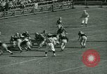 Image of American football New York City USA, 1944, second 42 stock footage video 65675021119