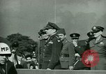 Image of General James Doolittle honors Fliers United Kingdom, 1944, second 39 stock footage video 65675021123