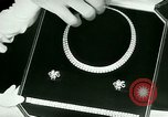 Image of Jewelry display New York United States USA, 1946, second 30 stock footage video 65675021128