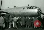 Image of B-29 Superfortress distance record Washington DC USA, 1945, second 58 stock footage video 65675021158