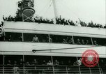 Image of Ship Gripsholm delivers Americans freed from internment by Germany New York City USA, 1944, second 16 stock footage video 65675021166
