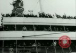 Image of Ship Gripsholm delivers Americans freed from internment by Germany New York City USA, 1944, second 17 stock footage video 65675021166