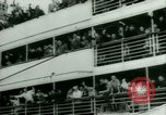 Image of Ship Gripsholm delivers Americans freed from internment by Germany New York City USA, 1944, second 19 stock footage video 65675021166