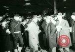 Image of Ship Gripsholm delivers Americans freed from internment by Germany New York City USA, 1944, second 30 stock footage video 65675021166