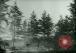 Image of German prisoners work in snow Northern United States USA, 1944, second 20 stock footage video 65675021169