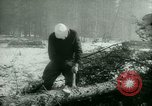 Image of German prisoners work in snow Northern United States USA, 1944, second 21 stock footage video 65675021169