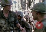 Image of Troops of US 503rd Airborne Infantry Regiment assault Hill 875 South Vietnam, 1967, second 16 stock footage video 65675021188