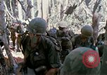 Image of Troops of US 503rd Airborne Infantry Regiment assault Hill 875 South Vietnam, 1967, second 17 stock footage video 65675021188