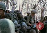 Image of Troops of US 503rd Airborne Infantry Regiment assault Hill 875 South Vietnam, 1967, second 18 stock footage video 65675021188