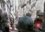 Image of Troops of US 503rd Airborne Infantry Regiment assault Hill 875 South Vietnam, 1967, second 20 stock footage video 65675021188
