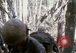 Image of Troops of US 503rd Airborne Infantry Regiment assault Hill 875 South Vietnam, 1967, second 25 stock footage video 65675021188